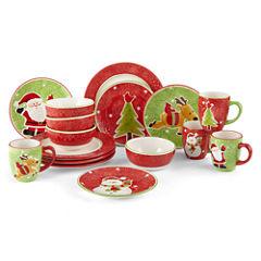 JCPenney Home™ Wonderland Holiday 16-pc. Dinnerware Set