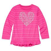 Arizona Long-Sleeve Graphic Top - Toddler Girls 2t-5t