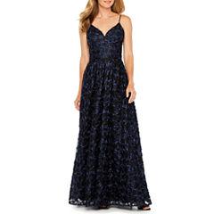 After Dark Sleeveless Evening Gown