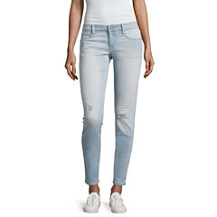Arizona Skinny Jeans-Juniors