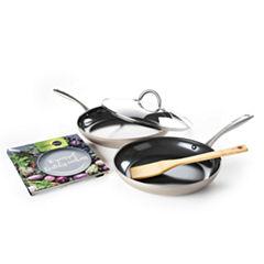 GreenPan Limited Edition 5-pc. Aluminum Dishwasher Safe Hard Anodized Cookware Set