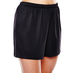 Azul by Maxine of Hollywood Jogger Swim Shorts - Plus