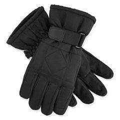 Long Cuff Ski Gloves - Boys 8-20