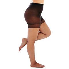 Berkshire Shimmers® Control Top Pantyhose - Queen