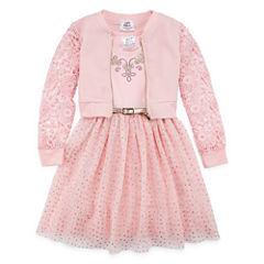 Knit Works 2-pc. Jacket Dress Preschool Girls
