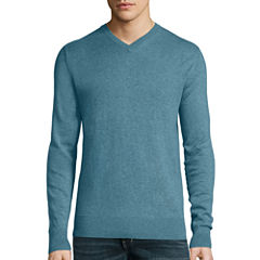 St. John's Bay® Long-Sleeve Fine-Gauge Sweater