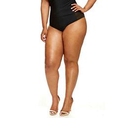 Helena High-Waist Mesh Bikini Bottom