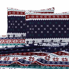 Tribeca Living Deer Valley Flannel Pillowcases
