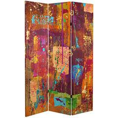 Oriental Furniture 6' Canvas Room Divider Room Divider