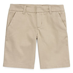 Arizona Woven Bermuda Shorts - Big Kid Girls