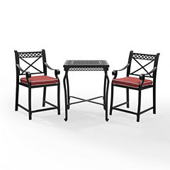 Portofino Cast Aluminum 3-pc. Bistro Set