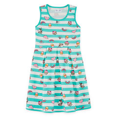 Emerald Gumdrops Short Sleeve Cap Sleeve Party Dress - Big Kid Girls