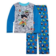 2-pc. Kids Teen Titans Pajama Set Boys Husky