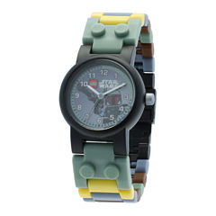 LEGO® Star Wars® Boba Fett Kids Watch with Mini Figure