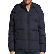 St. John's Bay® Long-Sleeve Hooded Puffer Jacket