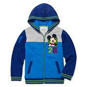 Disney Collection Mickey Fleece Jacket - Boys
