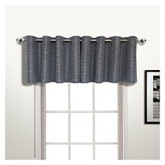 United Curtain Co. Brighton Grommet-Top Straight Lined Valance