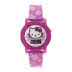 Hello Kitty® Kids Flashing and Sound Digital Watch