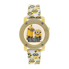 Despicable Me Minions Kids Flashing and Sound Digital Watch