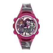 Monster High Kids Flashing Digital Watch