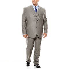Stafford® Travel Sharkskin Suit Separates - Big & Tall