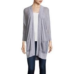 Stylus™ 3/4-Sleeve Knit Cardigan