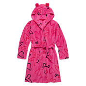 Total Girl® Long-Sleeve Heart Robe - Girls 7-16
