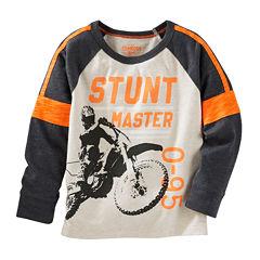 Oshkosh B'gosh® Long-Sleeve Stunt Master Shirt - Baby Boys 3m-24m
