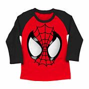 Boys Spiderman Graphic T-Shirt-Big Kid