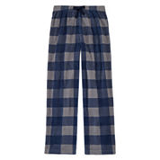Arizona Microfleece Buffalo Plaid Pajama Pant- Boys 4-20, Husky