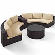Catalina Wicker 4-pc. Patio Lounge Set