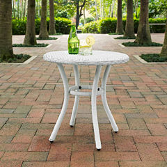 Palm Harbor Wicker Patio Side Table