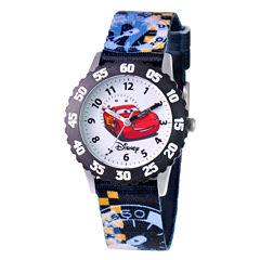 Disney Cars Time Teacher Kids Stainless Steel Watch