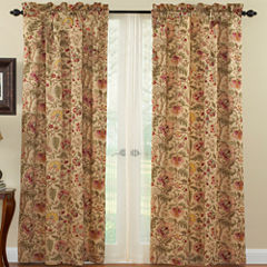 Waverly® Imperial Dress Rod-Pocket Curtain Panel