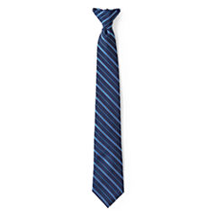 IZOD® Striped Clip-On Tie - Boys One Size