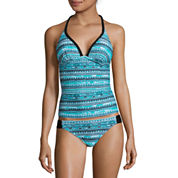 Arizona Mix & Match Mod Dream Push-Up Tankini Swim Top