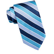 Stafford® Parks Road Stripe Silk Tie