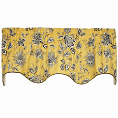 Jeanette Duchess Lined Rod-Pocket Valance