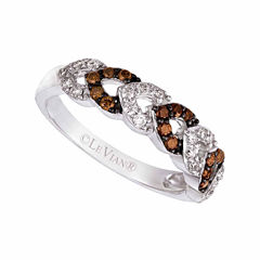 Grand Sample Sale™ by Le Vian® 1/2 CT. T.W. Vanilla Diamonds® & Chocolate Diamonds® in 14k Vanilla Gold® Chocolatier® Ring