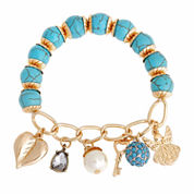 Mixit White Charm Bracelet
