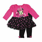 Disney Girls Pant Set-Baby