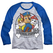 Paw Patrol Long-Sleeve Raglan T-Shirt - Toddler 2T-5T