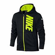 Nike® Fleece Therma Training Zip Hoodie - Boys 8-20