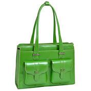 McKlein Alexis Leather Briefcase