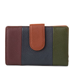 Mundi Rio Leather S&P RFID Blocking Indexer Wallet