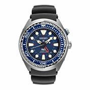 Seiko Mens Blue Strap Watch-Sun065