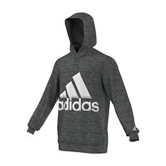 adidas® Long-Sleeve Logo Hoodie
