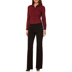 Worthington® Long-Sleeve Button-Front Oxford Shirt or Modern-Fit Pants