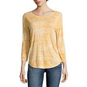 a.n.a® 3/4-Sleeve Back-Seam Tee - Tall