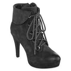 2 Lips Too Lucy Womens Bootie